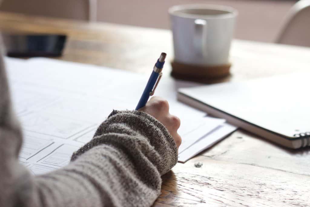 Ecrire son bilan mensuel